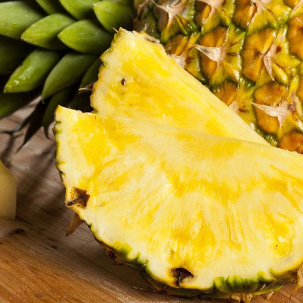 Ananas Zutat in Synergo